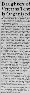 Daughters of Veterans - Myra MacCourt and Myra Fischer - Newspapers.com