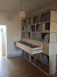 diy home decks studio find this pin and more on vinyl record storage ideas