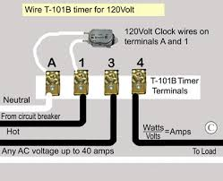 how to wire t101 timer t101b wiring
