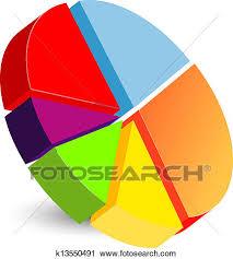 Pie Chart Icon Clipart K13550491 Fotosearch