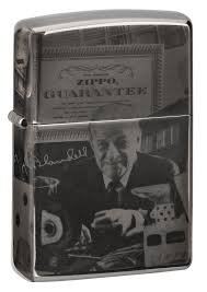 <b>Зажигалка George Blaisdell</b> Black Ice® <b>ZIPPO</b> 49134 купить оптом ...