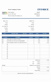 Microsoft Works Word Processor Invoice Template Ms Works