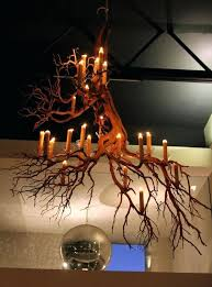light made from branches tree chandelier rustic tree branch best branch chandelier ideas on twig chandelier