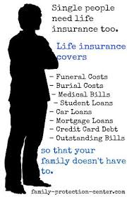 Single People Need Life Insurance Too See The Graphic To Find Out Enchanting Family Life Insurance Quotes