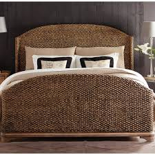 Seagrass Bedroom Furniture Sherborne Seagrass Woven Bed In Toasted Pecan By Riverside