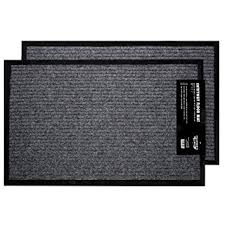 2 pack indoor outdoor floor mats for entryway 17 x 29 5 all