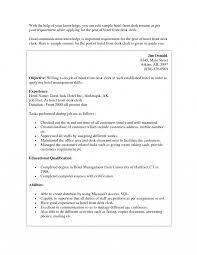 best solutions of front desk resume sample in hotel clerks office manager job description template outlines