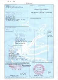 China Certificate Of Origin What An Importer Should Know