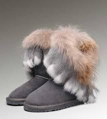 UGG Fox Fur Short 8288 Boots