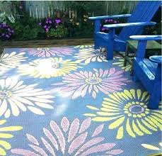 plastic patio area rugs rug beautiful outdoor only recycled mad mats daisy violet mat ou