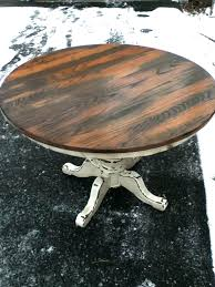 farmhouse round table dining plans best ideas on with leaf full size