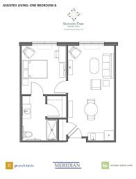 The Village At Cedar Hill  Windsoru0027s Premier Independent Assisted Living Floor Plan