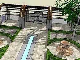 Small Picture Garden design in 3D using Sketchup YouTube