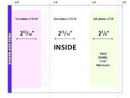 4 Panel Brochure Template 6 Panel Brochure Template Publisher