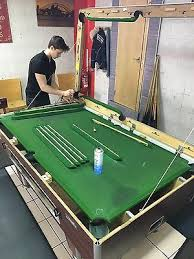 pool table snooker recovering service