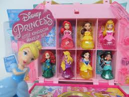 disney princess makeup set little kingdom collection sparkle nail polish hair maa lip gloss you