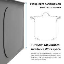 Black Kitchen Soap Dispenser Stainless Steel Kitchen Sink Combination Kraususacom