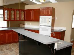 Would love to try using one as our cupboards are the type with vinyl paper on them, typical manufactured home cabinets, ugh. Spray Painting Kitchen Cabinets Pictures Ideas From Hgtv Hgtv