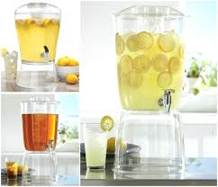 3 gallon glass beverage dispenser 3 gallon beverage dispenser with ice core stand party drinks storage