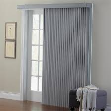 Sliding patio door blinds ideas Shades Brylanehome Embossed Vertical Blinds grey104w 84 L Decor Snob Window Treatments For Sliding Glass Doors ideas Tips