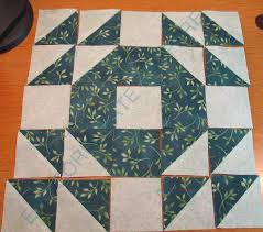 My Sewing Machine Obsession: Single Wedding Ring Quilt & The design calls for twenty pieced blocks. Each block is made with 16 HST  (half square triangles) and nine 2.5 inch squares. I am sure that the block  has a ... Adamdwight.com