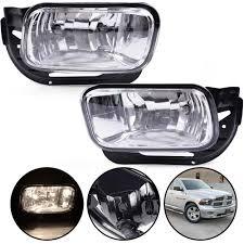 2012 Ram 2500 Fog Lights Fit For Dodge Ram 1500 2009 2012 Ram 2500 3500 2010 2018 Clear Bumper Fog Lights Replacement Driving Lamps W Bezel H10 12v 42w Halogen Bulbs