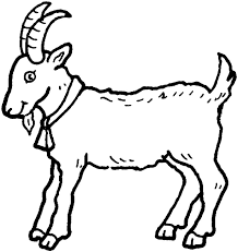 Small Picture Goat Coloring Pages nebulosabarcom