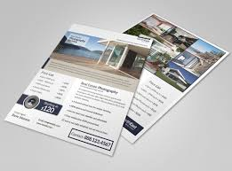 real estate flyer templates real estate photographer flyer template mycreativeshop
