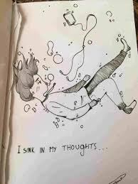 Aesthetic Drawing Sad