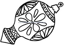 Small Picture Best Picture of Coloring Pages For Christmas Ornaments All Can
