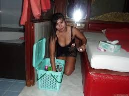 Busty Thai chick gets drunk and strips naked for boyfriend and.
