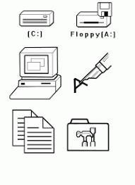 Immagini Del Computer Da Colorare Disegno Di Computer Da Colorare