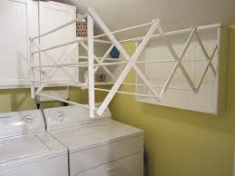 laundry drying rack wall mounted design