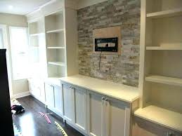 built in tv wall units built in wall unit case study puter desk built in wall