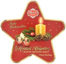 Reber Weihnachtsstern Mozart Kugel Mischung 1er Pack 1 X