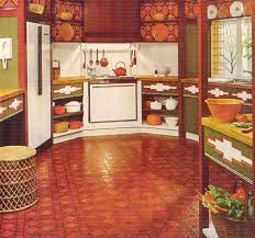 Red And Gold Kitchen Burnt Orange Accent Wall In Family Room Description From