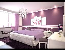 Purple Painted Bedroom Bed Rooms With Purple Colours Purple Colour Bedroom As Purple