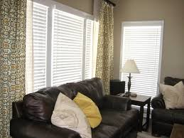 Short Curtains In Living Room Carefree Blonde Diy Easy Curtains
