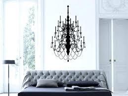 chandelier wall art classy design ideas chandelier wall art decal stickers with wall decals chandelier target