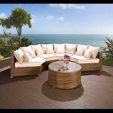 luxury outdoor garden round 6 seater corner sofa west midlands