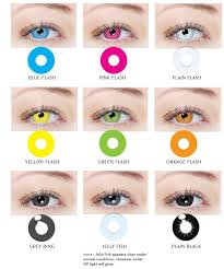 Crazy Contact Lenses The Crazy Disco Range Lights Up Under