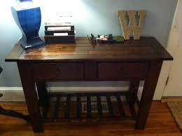 diy sofa table ana white. Benchwright/Tryde Console Table Diy Sofa Ana White