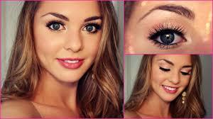 grade 8 grad formal makeup tutorial bella thorne inspired jackie wyers you