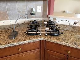 santa cecilia perfect seam machine granite countertops jpg
