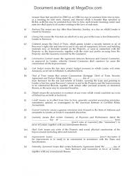 Sample Construction Loan Agreement Sample Construction Loan Agreement Resume Template Sample 7