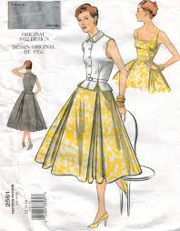 Vogue Pattern Cool Vogue Pattern 48 Vintage Design Sundress And Jacket From 48