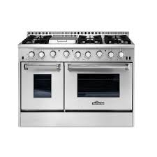 gas kitchen stove. Thor Kitchen 48 In. 6.7 Cu. Ft. Professional Gas Range In Stainless Steel Stove The Home Depot
