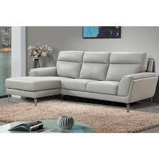 vitalia corner left handed leather sofa
