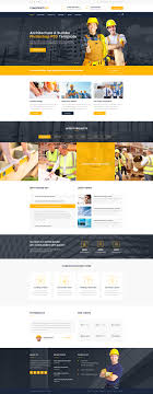 Construction Website Templates Construction Architecture Builder Construction Company PSD 20