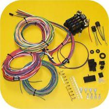jeep willys ignition wires full wiring harness jeep cj7 cj5 cj8 cj6 scrambler willys cj fc amc fuse block